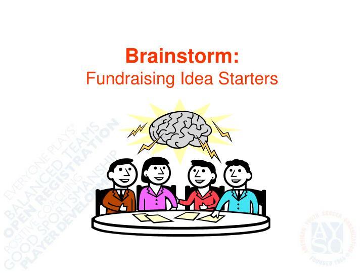 Brainstorm: