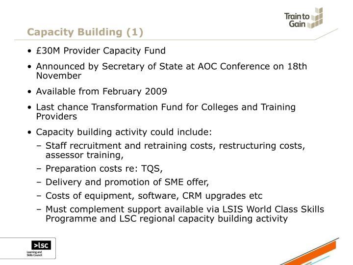 Capacity Building (1)