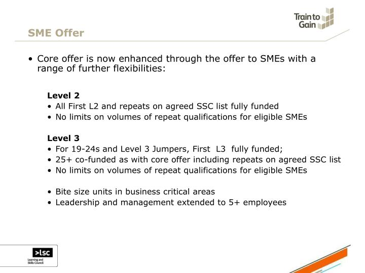 SME Offer