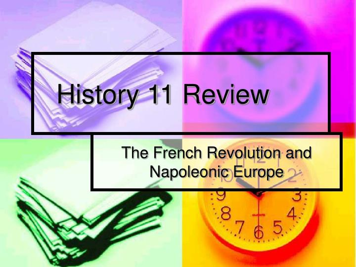 History 11 review