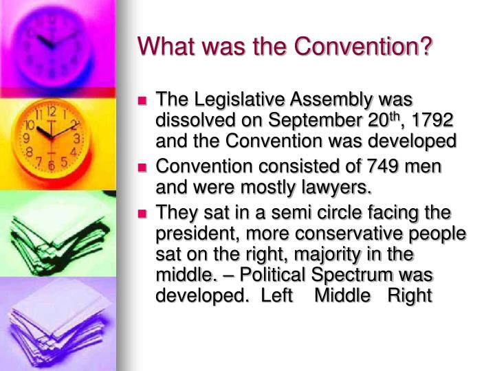 What was the Convention?