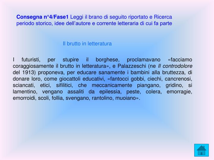 Consegna n°4/Fase1