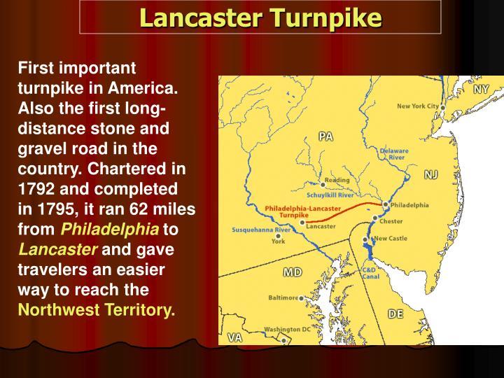 Lancaster Turnpike