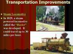 transportation improvements4