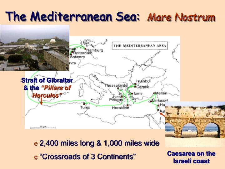 The Mediterranean Sea: