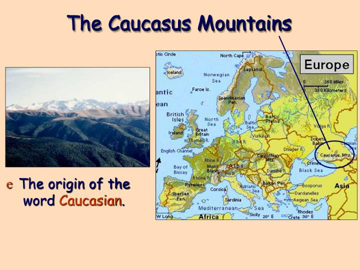 The Caucasus Mountains
