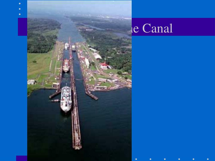 Aerial View of the Canal