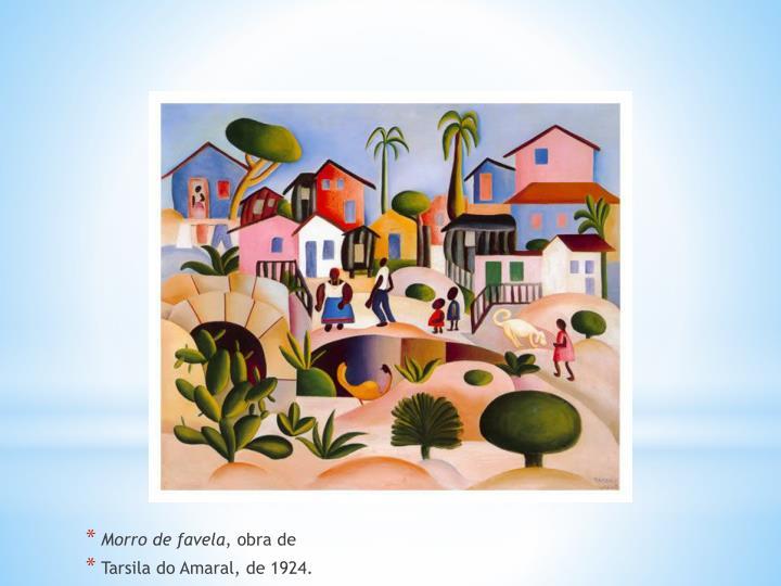 Morro de favela