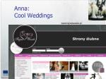 anna cool weddings
