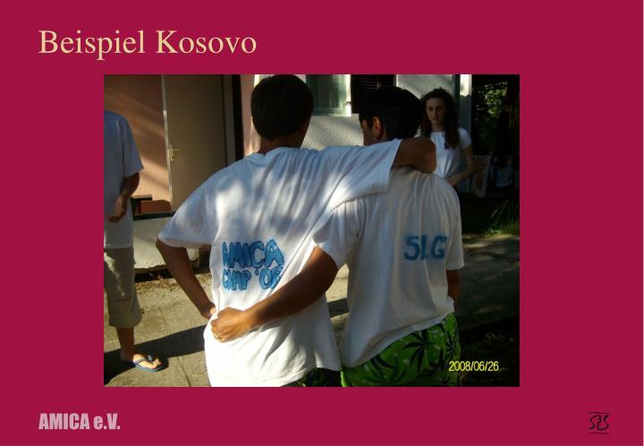 Beispiel Kosovo