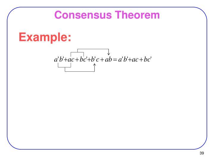 Consensus Theorem