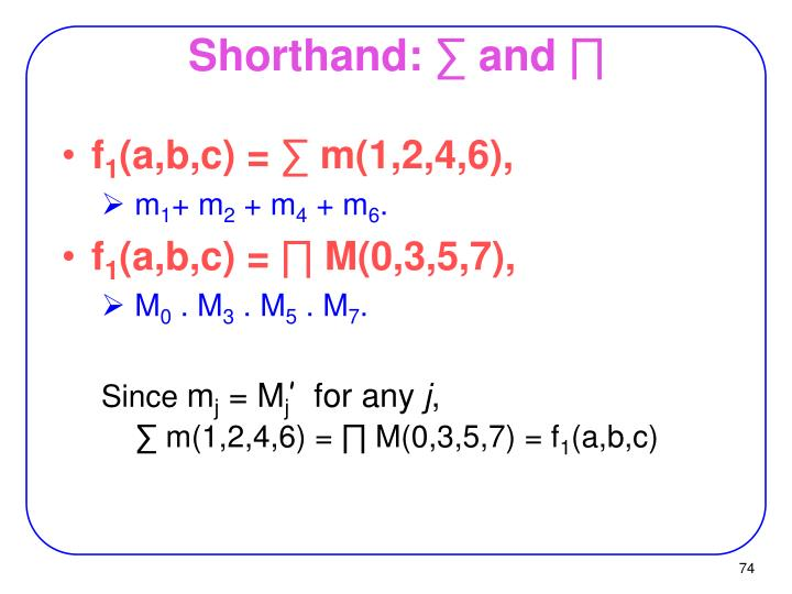 Shorthand: