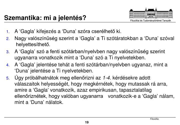 Szemantika: mi a jelentés?