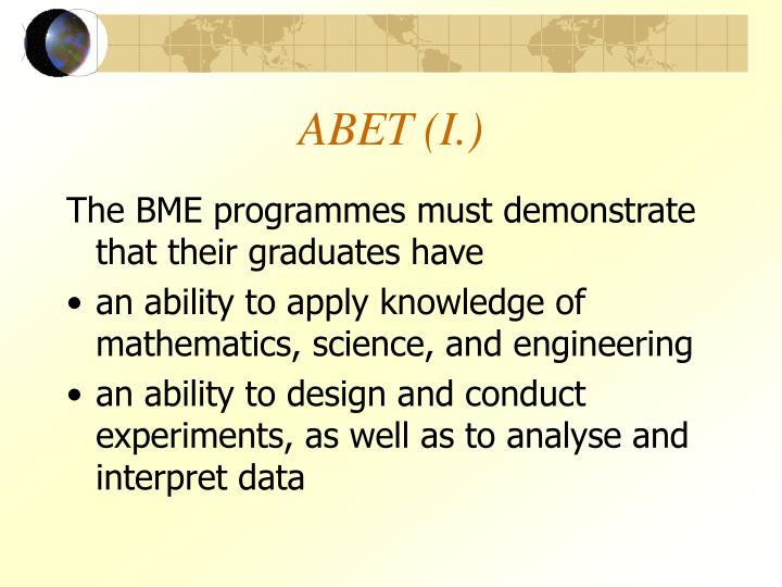 ABET (I.)