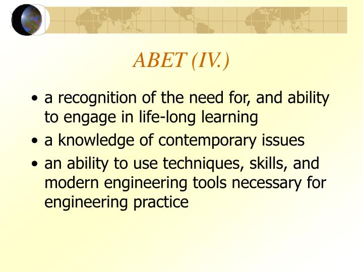 ABET (IV.)