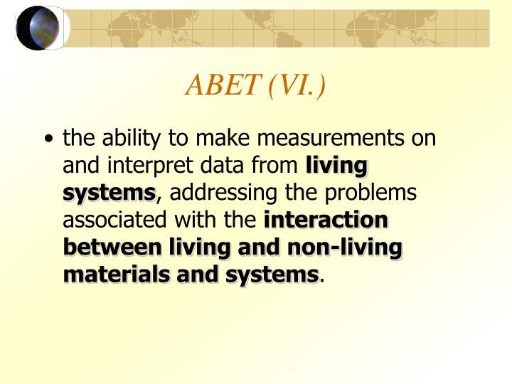 ABET (VI.)