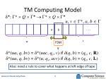 tm computing model1