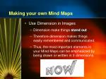 making your own mind maps