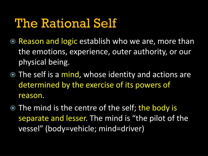 The Rational Self