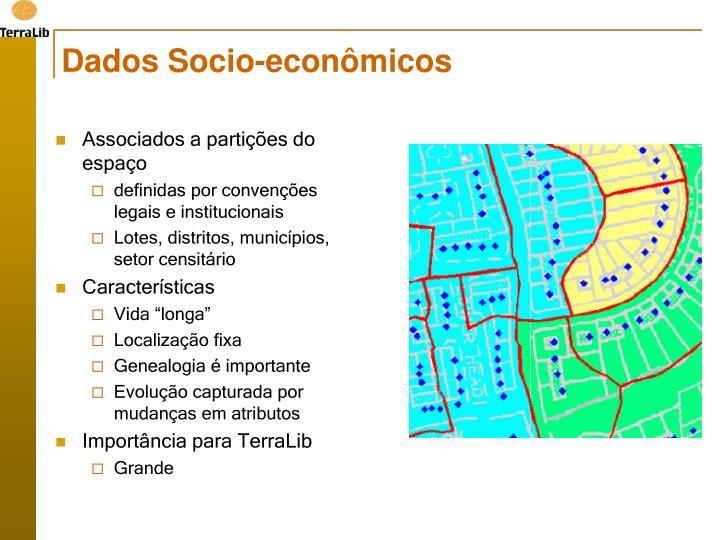 Dados Socio-econômicos