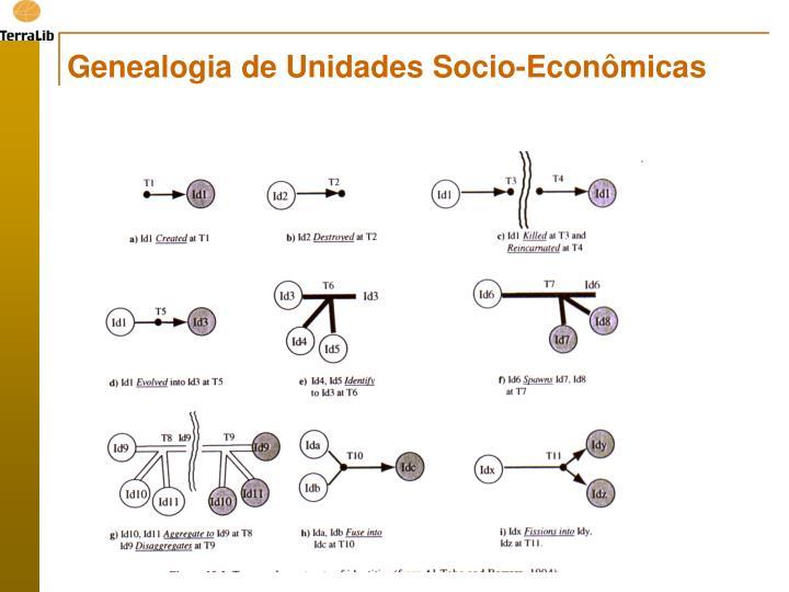 Genealogia de Unidades Socio-Econômicas