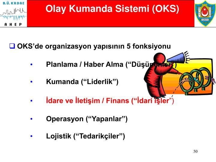 Olay Kumanda Sistemi (OKS)