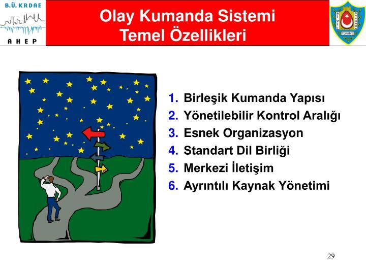 Olay Kumanda Sistemi