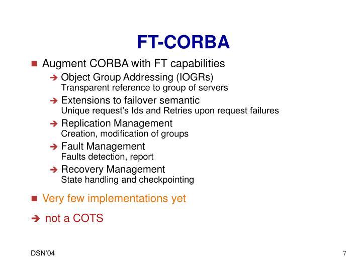 FT-CORBA