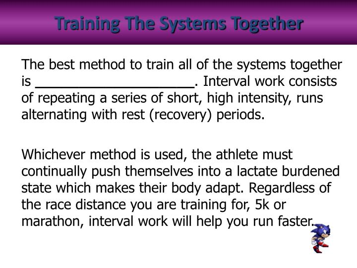 Training The Systems Together