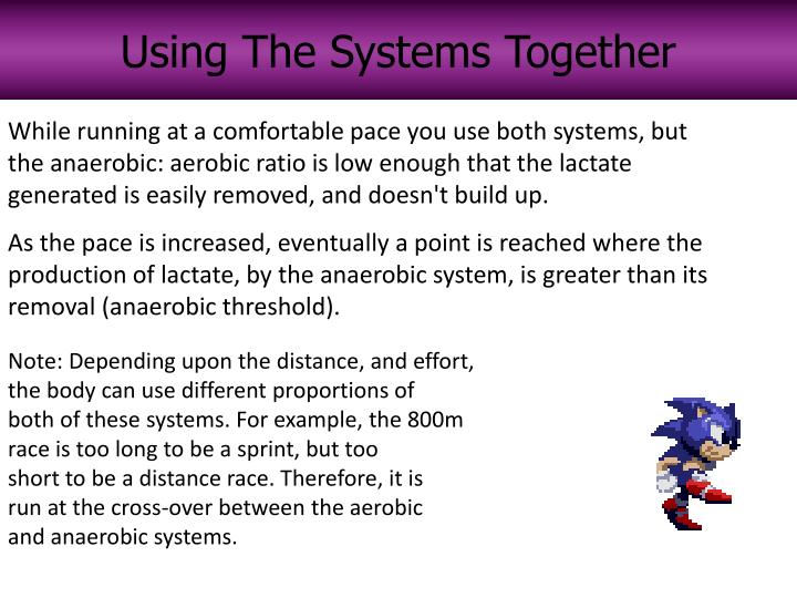 Using The Systems Together