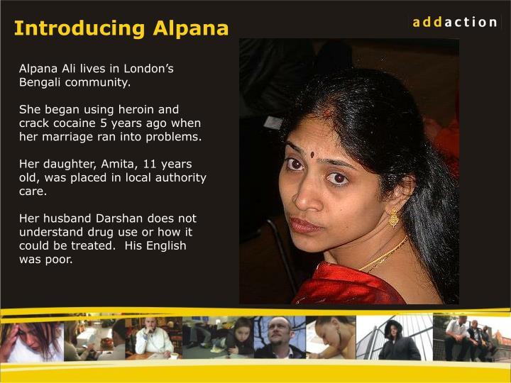 Introducing Alpana
