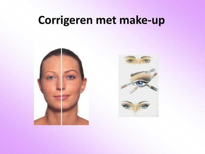 Corrigeren met make-up