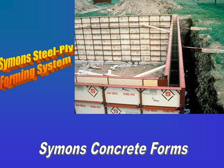 Symons Steel-Ply