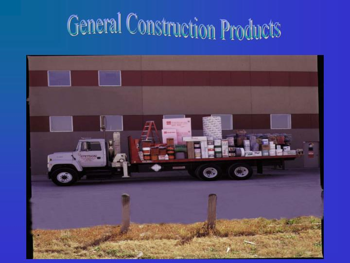 General Construction Products