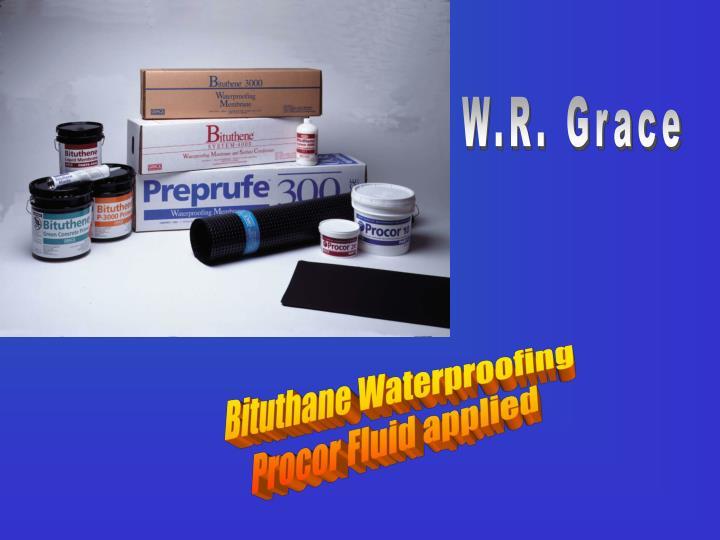 W.R. Grace