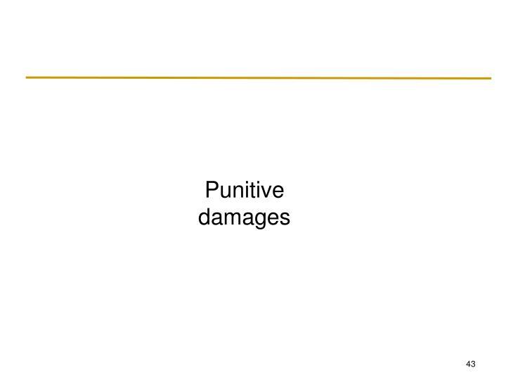 Punitive