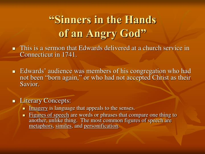 imagery sinners in the hands of Sinners in the hands of an angry god  sinners - imagery identifieddoc (96k) john simmer, feb 14, 2012, 1:31 am v1.