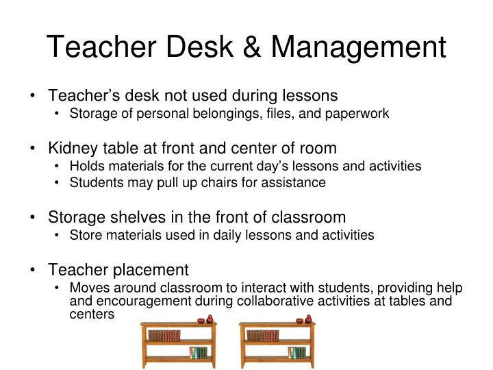 Teacher Desk & Management