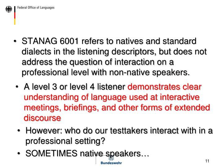 STANAG 6001