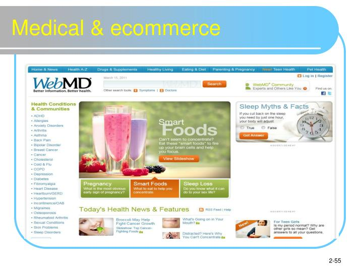 Medical & ecommerce
