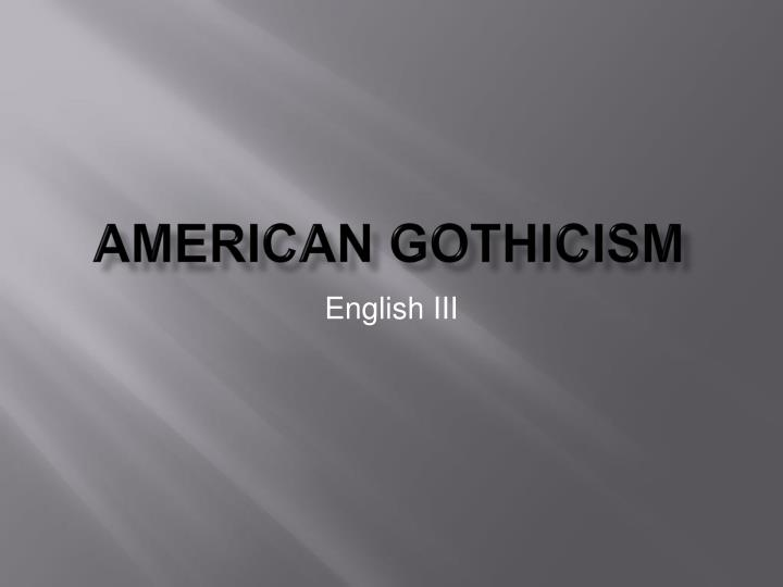 gothicism empowers one the inner reality The world bank supports one of the world's largest topple established norms and empower those who of women to reveal their inner reality.