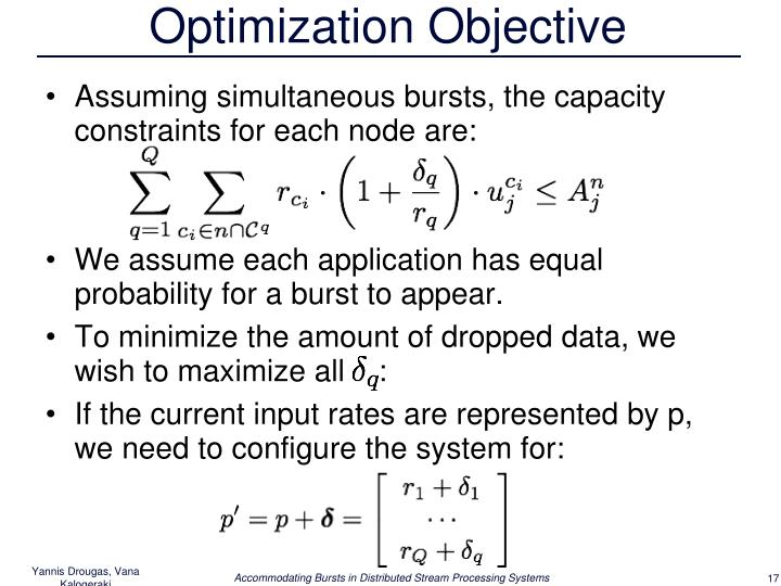 Optimization Objective