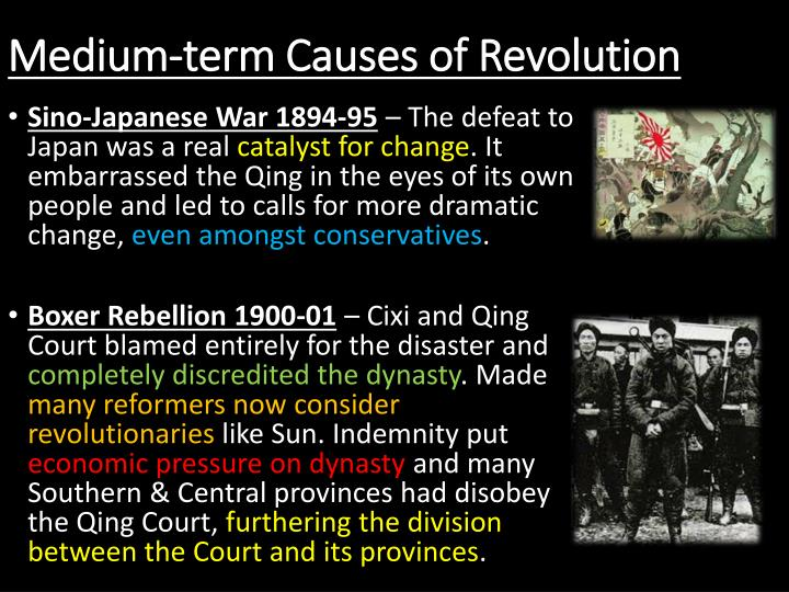 Medium-term Causes of Revolution