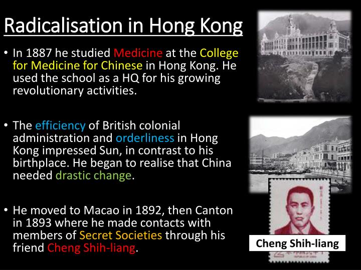 Radicalisation in Hong Kong