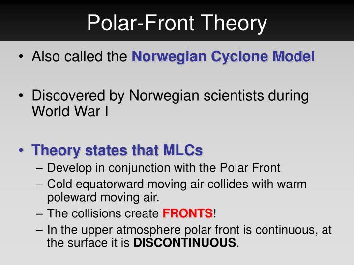 Polar-Front Theory