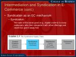 intermediation and syndication in e commerce cont1