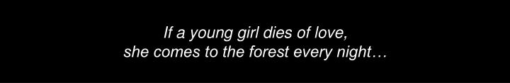If a young girl dies of love,