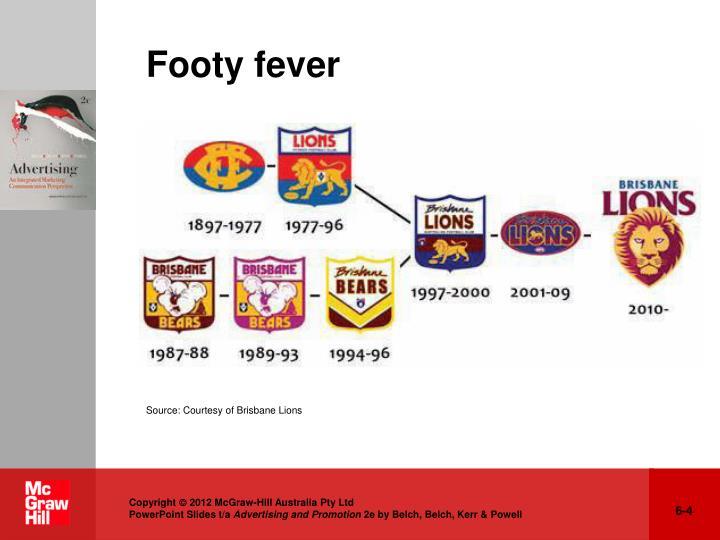 Footy fever