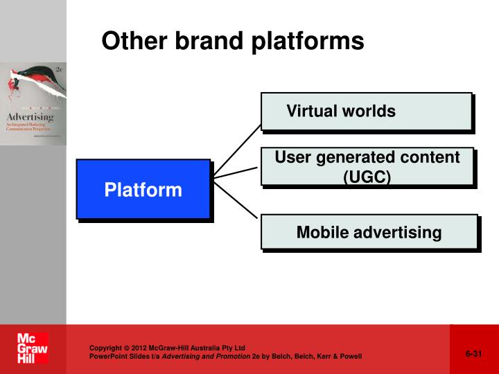 Other brand platforms