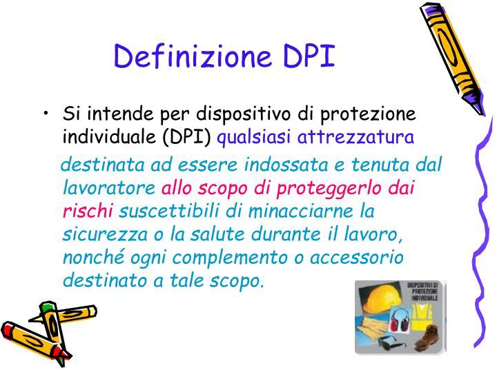 Definizione DPI